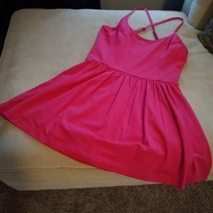 Make Offer! Hot Pink Skater Dress